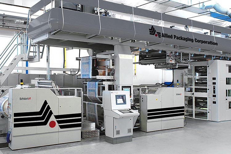 8 Color Wide Web Flexo Presses